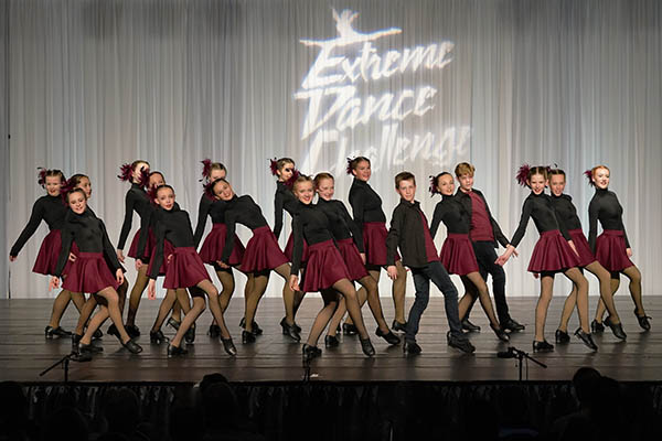 group dance number - Extreme Dance Challenge